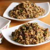 Beef Tender Tip and Wild Mushroom Risotto