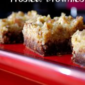 Coconut Pecan Frosted Brownies