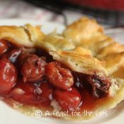 Homemade Cherry Pie Filling = The Best Cherry Pie!