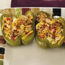 Turkey-Stuffed Bell Peppers Recipe