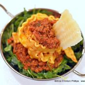 Bolognese with Riccarelle Pasta