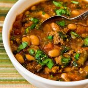 Pinto Beans and Ground Beef Stew