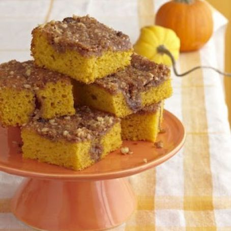 Pumpkin Sugar Cake