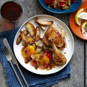 Chicken With Peppers, Fennel, Onions & New Potatoes