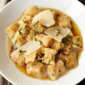 Potato Gnocchi with Brown Butter and Sage