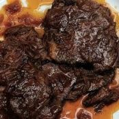 Beer Braised Beef with Onions