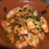 Shrimp with Gin