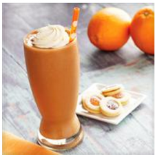 Orange Mocha Smoothie