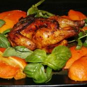 Moroccan Cornish Game Hens