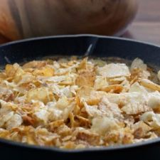 Tuna Noodle Casserole with Potato Chip Topping