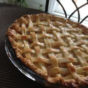 9-inch Apple pie (crust + filling)