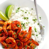 Easy Peruvian Shrimp