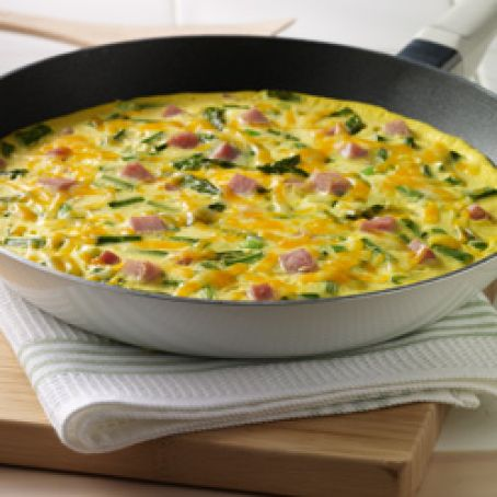 Spring Frittata for Two