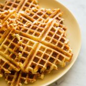 Gruyere and Green Onion Waffles