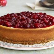 Cranberry-Cinnamon Cheesecake