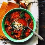 Lentil, Kale and Sausage Soup