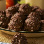 Chocolate Hazelnut No-Bake Cookies