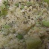 Cauliflower Brown Rice With Broccoli & Peas Risotto