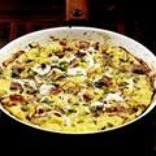 Potato, Bacon, and Fontina Frittata