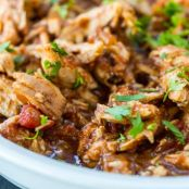 Crockpot  3-Ingredient Balsamic Skinny Chicken