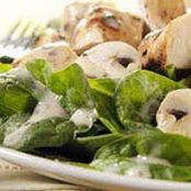 Honey-Herb Chicken & Spinach Salad