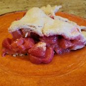Paleo AIP Strawberry Rhubarb Pie