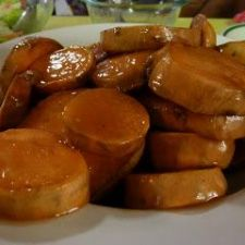 Root Beer Bourbon Sauce for Sweet Potatoes from Disney
