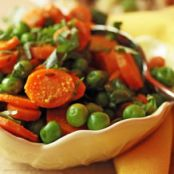 Cumin Flavored Peas & Carrots