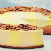 Baked Ginger-Pear Cheesecake