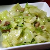Southern Pan Fried Cabbage