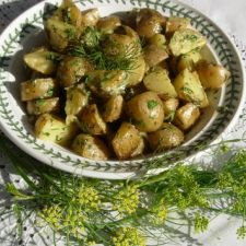 Roasted Baby Dutch Yellow Potato Salad with Dill