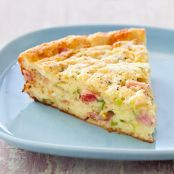 Impossible Ham & Cheese Pie