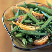 Haricots Verts, Roasted Fennel and Shallots