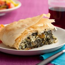 Spinach Pie with Pine Nuts