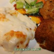 Cod with Parmesan Sauce
