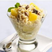 Easy Rice Pineapple Pudding