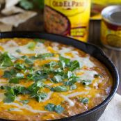 Hot Beef and Bean Dip