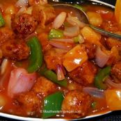 Chinese Vegan Sweet and Sour Pork