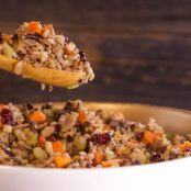 Wild Rice & Cranberry Stuffing