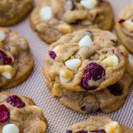 Cranberry & White Chocolate Chip Cookies
