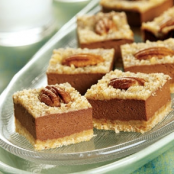 CHOCOLATE ORANGE CHEESECAKE BARS