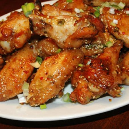 Cointreau-Glazed Chicken Wings