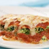 Chicken Breasts stuffed with Spinach, Ricotta and Provolone Cheese