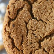 Molasses Ginger Raisin Cookies
