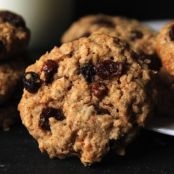 Oatmeal Raisin Cookies (Vegan/Sugar Free)