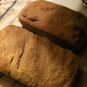 Easy soaked whole wheat bread