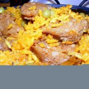 Arroz Con Chorizo (Rice and Spanish Sausage)