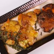 Michael Symon's Smashed and Fried Potatoes