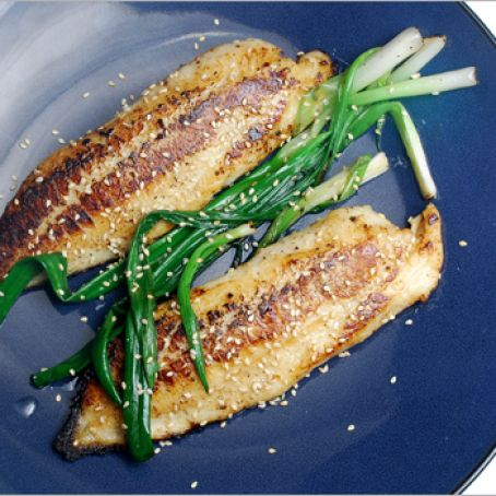 Tilapia With Miso And Scallions Recipe 4 2 5