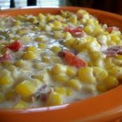 Slow Cooker Chive and Onion Creamed Corn